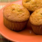 Citron Muffins Med Marcipan Og Mandler