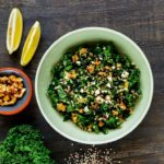 kålsalat med quinoa og citron dressing