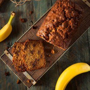 banankage uden sukker med dadler