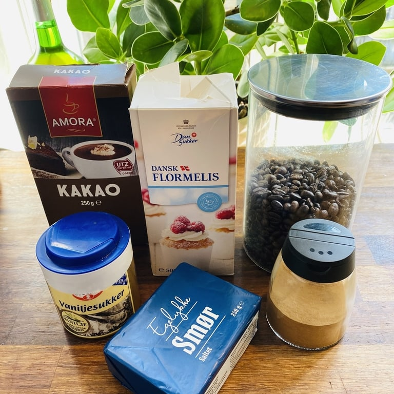 kaffeglasur ingredienser