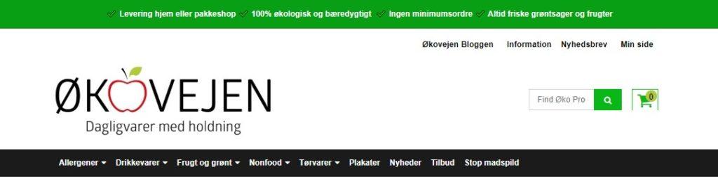 økovejen online supermarked