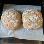 groft brød med grahamsmel